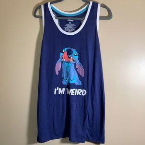 "Disney Stitch Tank Top ""I'm Weird"""